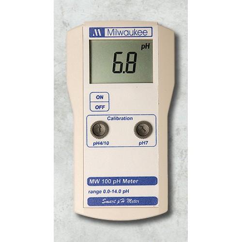 Milwaukee EC Tester MW302 + pH Tester MW100