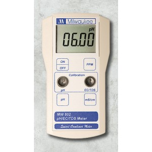 Milwaukee pH-EC-TDS Tester MW 802