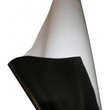 Rotolo telo bianco/nero 25x2 Metri