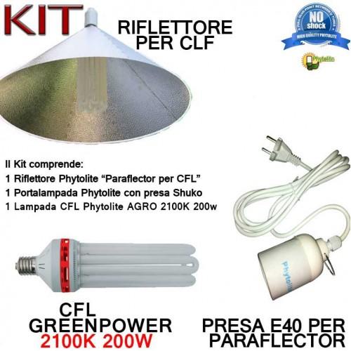 Kit completo Phytolite 200W per CFL AGRO