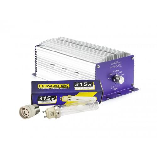Lumatek CMH 315 Watt- Con bulbo Agro 3100 K e adattatore E40
