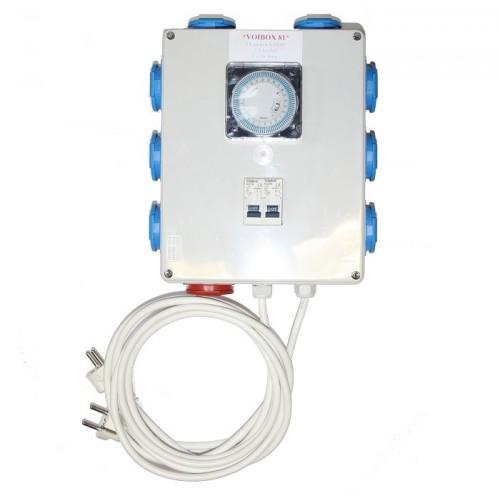 Timer box - Voixbox 81 relay 2x16A - 8x600W