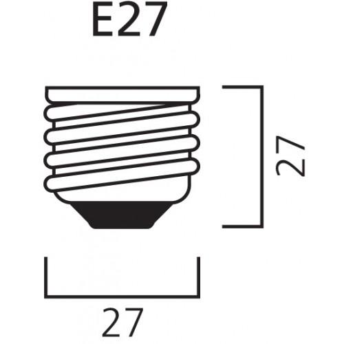 Lampada verde Sylvania 80W
