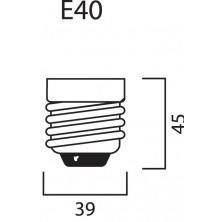 Sylvania HSI-TSX 400W BriteLux - vegetativa