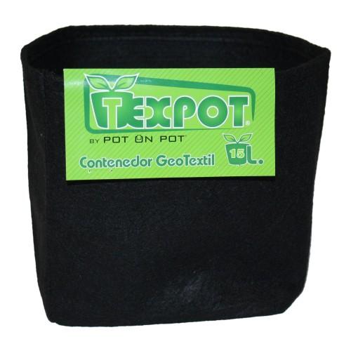 Vaso TexPot 25L - Vaso in Geotessile - Riutilizzabili