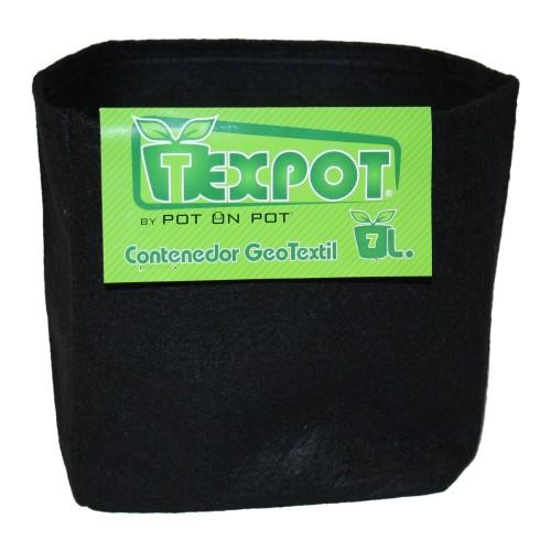 Vaso Pot on Pot 7L - Vaso in Geotessile - Riutilizzabili