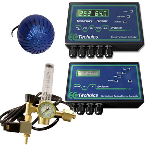 Kit Ecotechnics Evolution CO2 Controller +  Digital Fan Speed Controller