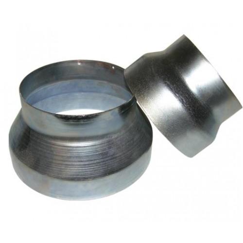 Riduzione alluminio zincato 250>160