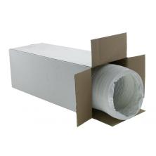 Tubo flessibile PVC Bianco 160mm - 15 metri