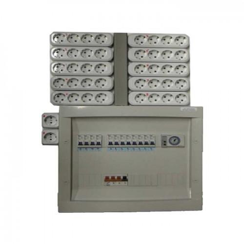 SchakelBord 12x600W -380V