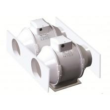 Vents TT125 - 280m3/h - cablato con termostato e potenziometro