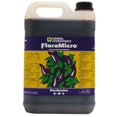GHE - FloraMicro hard water 5L