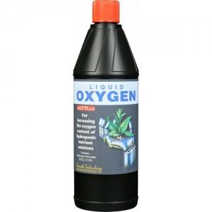 Growth Technology - Liquid Oxygen 1L - H2O2 17.5% - Ossigeno liquido per ossigenare sistemi Idroponici