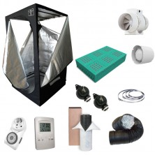 Kit Growbox completo 100x100x200 con Phytolite GX-300 Full Cycle - Vegetativa e Fioritura (A)