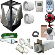 Kit Growbox 80x80x160 Economy con CFL Agrolite 150W Agro
