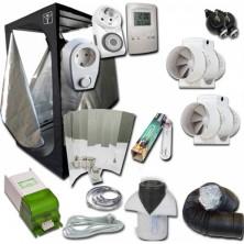 Kit Growbox 100x100x200 base + ventilatore Agro