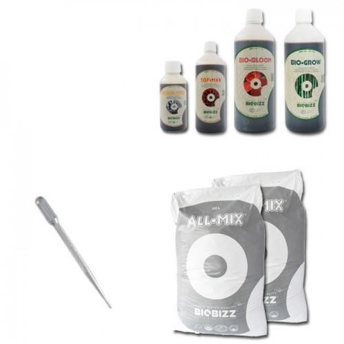 Kit Indoor Grower Pack 100x100 Biobizz - 6 piante