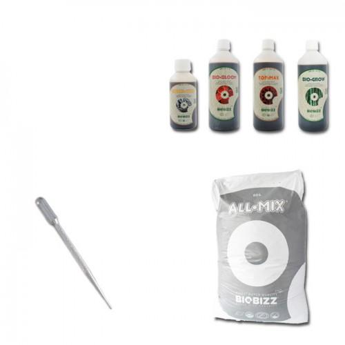 Kit Indoor Grower Pack 80x80 Biobizz - 4 piante