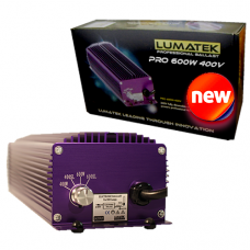Lumatek Ultimate PRO 600W 400V dimmerabile CON BULBO 600 Watt 400V