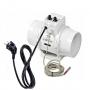 Vents TT100 - 187m3/h - cablato con termostato e potenziometro