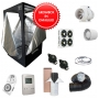 Kit Growbox completo 100x100x200 con AMARE SolarECLIPSE SE300 Full Cycle - Vegetativa e Fioritura (A)