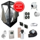 Kit Growbox completo 100x100x200 con AMARE SolarECLIPSE SE300 Full Cycle - Vegetativa e Fioritura (B)