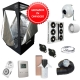 Kit Growbox completo 120x120x200 con AMARE SolarECLIPSE SE500 Full Cycle - Vegetativa e Fioritura (B)