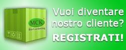 Vuoi diventare nostro cliente? Registrati!